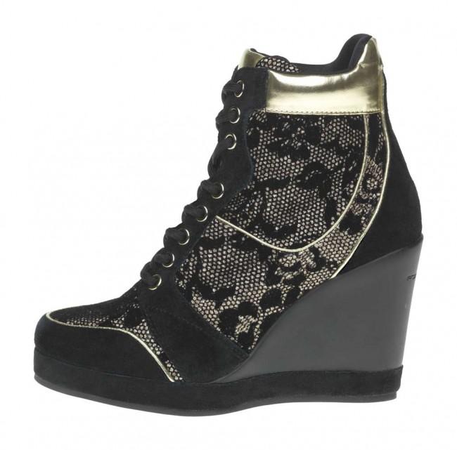 Sneakers pizzo Fornarina scarpe autunno inverno 2014 2015