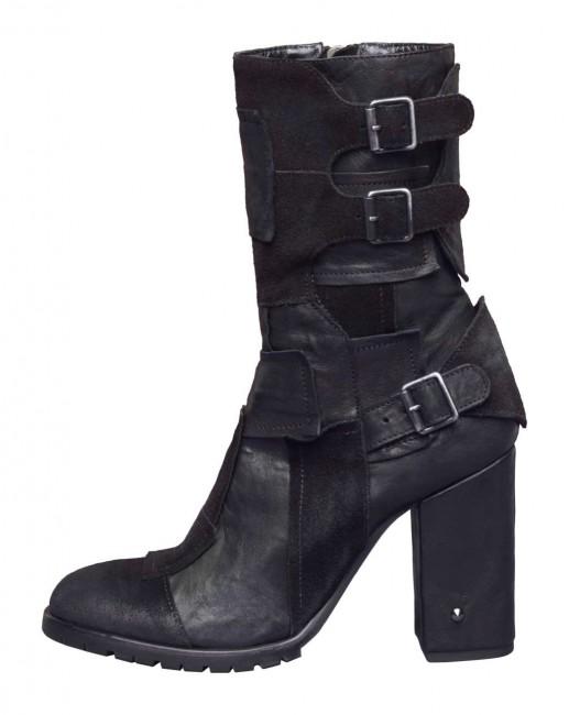 Stivaletti neri Fornarina scarpe autunno inverno 2014 2015