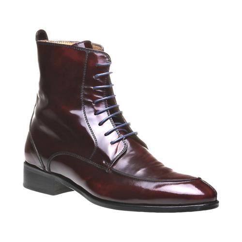 Stivaletti stringati in pelle lucida Bata scarpe autunno inverno 2014 2015
