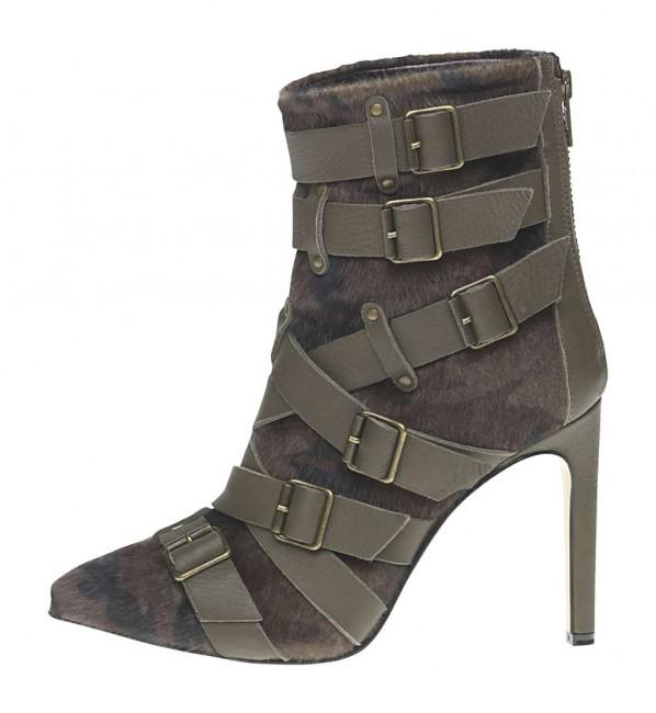 Stivaletto con fibbie Fornarina scarpe autunno inverno 2014 2015