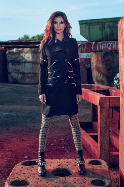 Trench Denny Rose autunno inverno 2014 2015