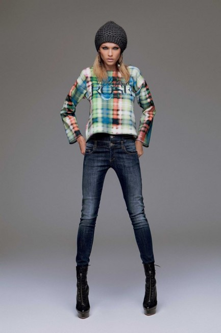 Jeans skinny Denny Rose autunno inverno 2014 2015