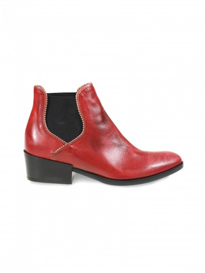 Chelsea boot rossi Janet & Janet scarpe autunno inverno 2014 2015