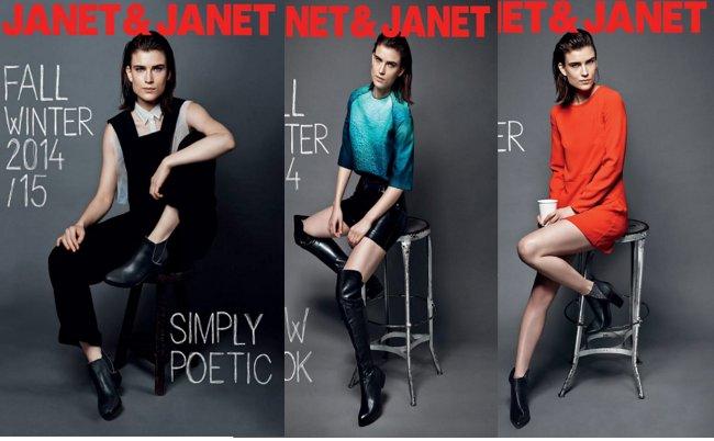Janet & Janet  scarpe autunno inverno 2014 2015