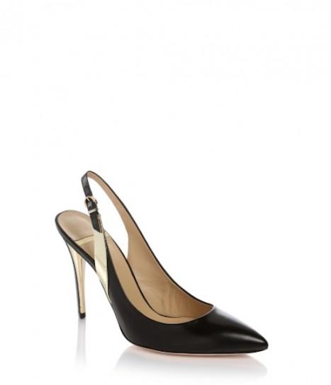 Slingback oro e nero Guess scarpe autunno inverno 2014 2015