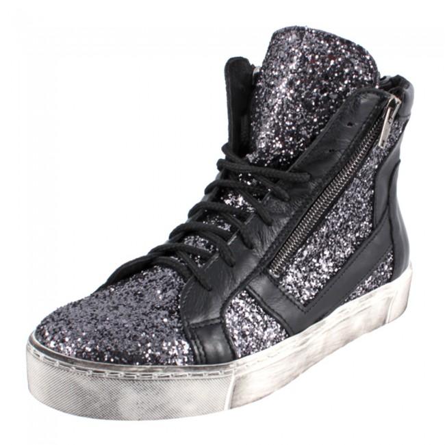 Sneaker basket in glitter Cinti scarpe autunno inverno 2014 2015