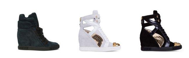 Sneakers Casadei scarpe autunno inverno 2014 2015