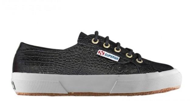 Sneakers Superga con stampa croco Superga scarpe autunno inverno 2014 2015