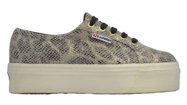 Sneakers Superga pitonate