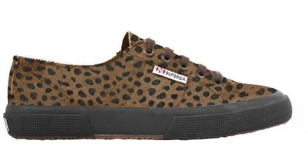 Sneakers animalier Superga scarpe autunno inverno 2014 2015