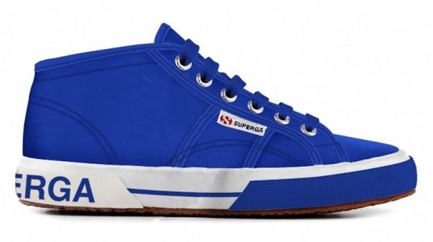 Sneakers blu elettrico Superga scarpe autunno inverno 2014 2015