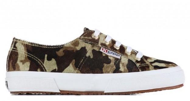 Sneakers camouflage Superga scarpe autunno inverno 2014 2015