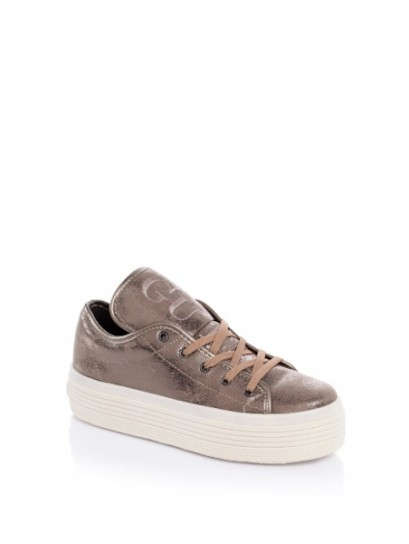 Sneakers con platform Guess scarpe autunno inverno 2014 2015