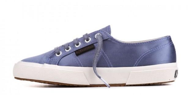Sneakers in satin lilla Superga scarpe autunno inverno 2014 2015