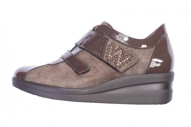 Sneakers marroni Melluso scarpe autunno inverno 2014 2015