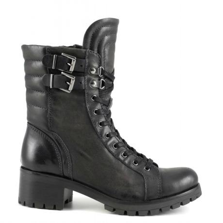 Stivaletti con fibbie Cafè Noir scarpe autunno inverno 2014 2015