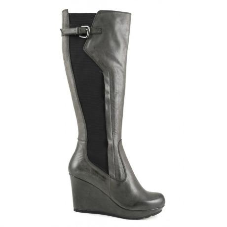 Stivali con zeppa Cafè Noir scarpe autunno inverno 2014 2015