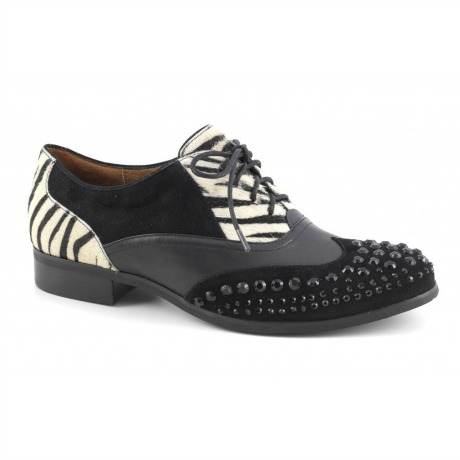 Stringate borchie Cafè Noir scarpe autunno inverno 2014 2015
