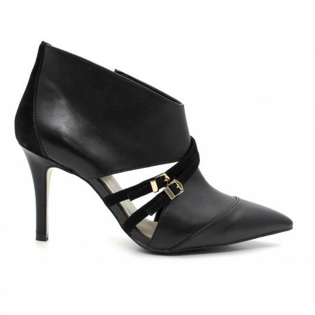 Tronchetti nere Cafè Noir scarpe autunno inverno 2014 2015