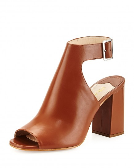 Ankle boot caramello Prada primavera estate 2015