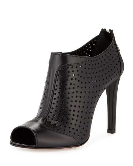 Ankle boot laser cut Prada primavera estate 2015