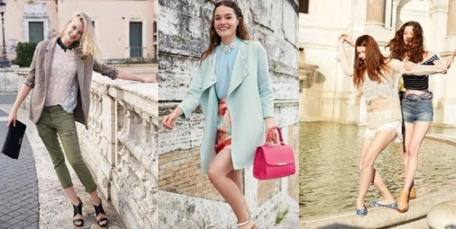 Collezione Benetton primavera estate 2015