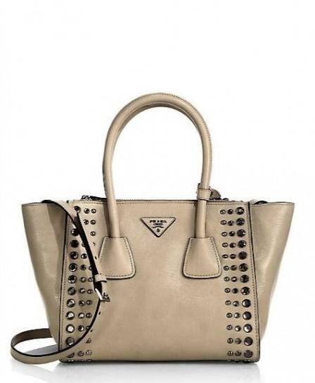 Min bag con cristalli Borse Prada primavera estate 2015