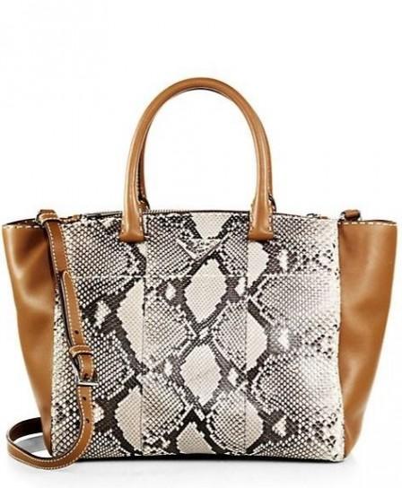 Shopper in pelle rettile Borse Prada primavera estate 2015