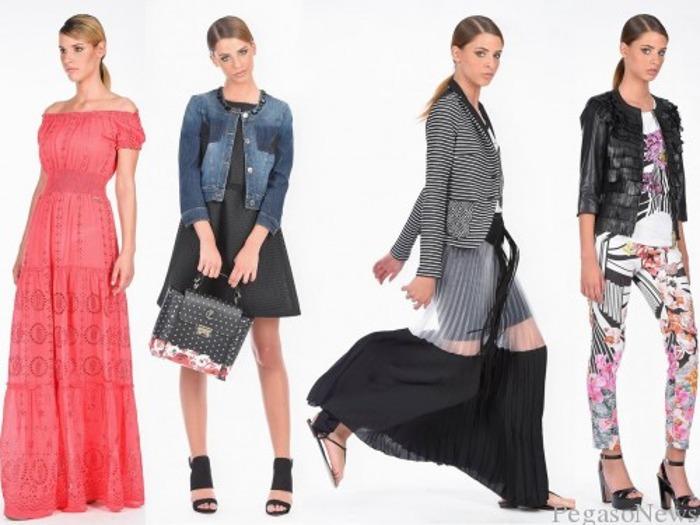Abbigliamento Cristinaeffe primavera estate 2015