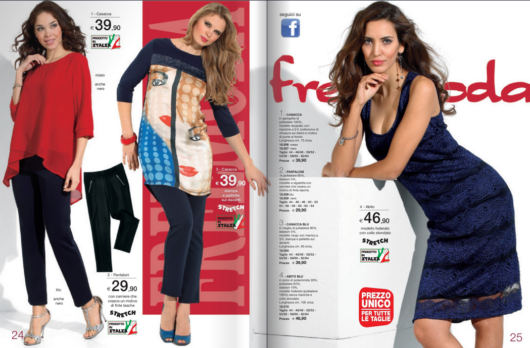 Catalogo Freemoda primavera estate 2017
