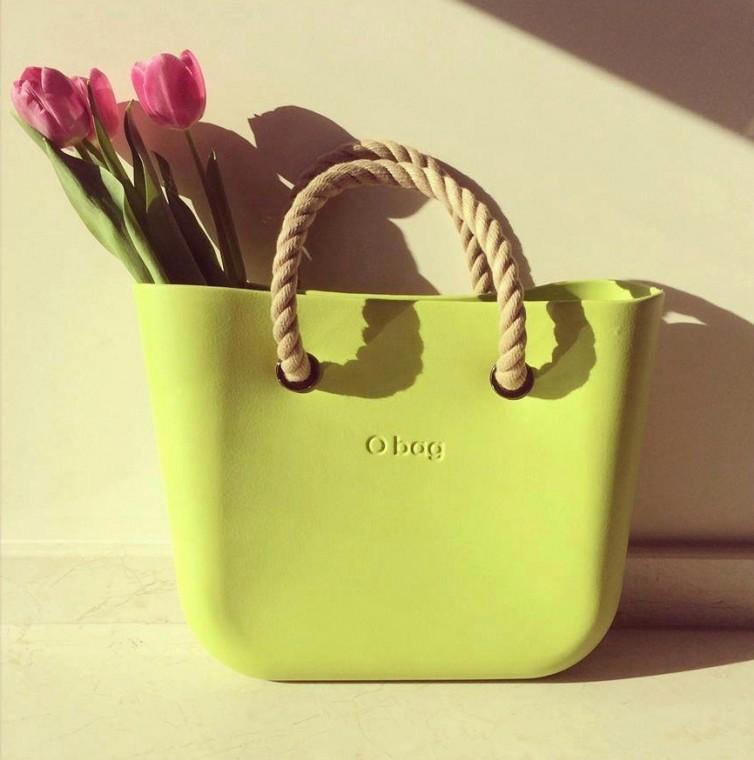 Borse O Bag verde mela