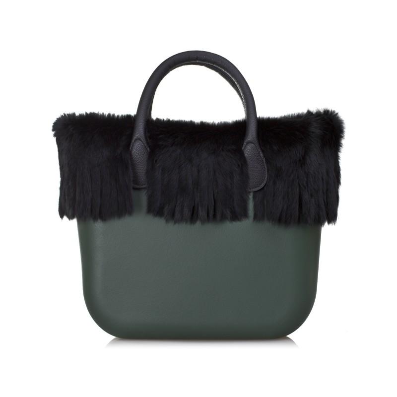 O bag borsa con frange
