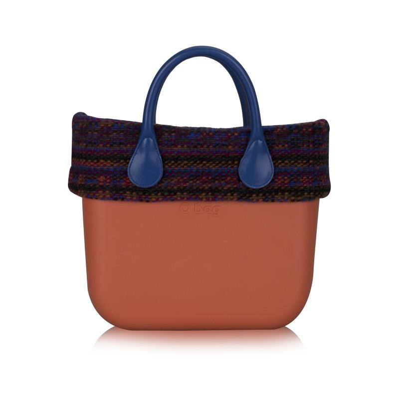 O bag borsa con tessuto maglia