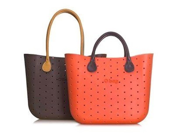 O bag borse arancione e marrone