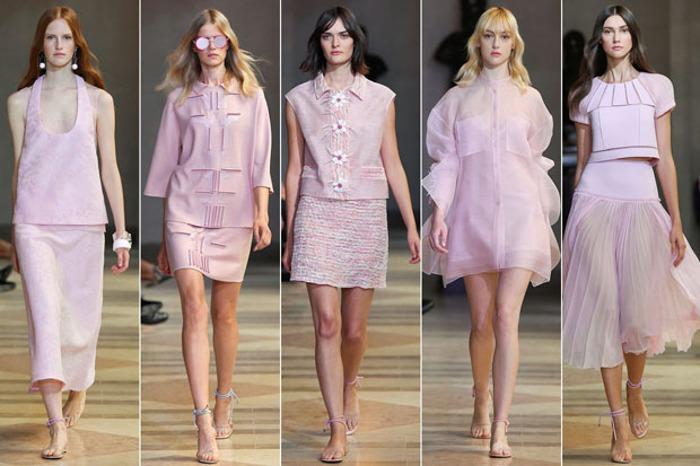 Abbigliamento quarzo rosa