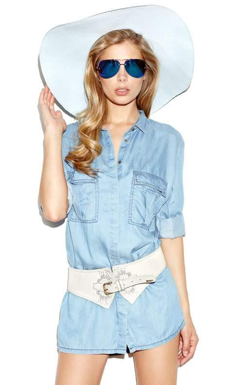 Camicia Guess denim