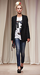 Giacca lunga Twin Set jeans primavera estate 2016