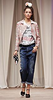 hot sale online 7b1e5 9ffa5 Jeans Mom Twin Set jeans primavera estate 2016   Moda con ...