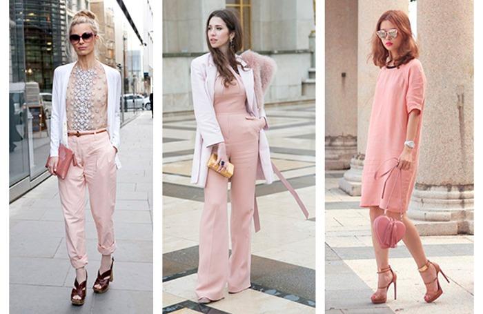 Look con stile quarzo rosa