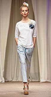 Maglia Twin Set jeans primavera estate 2016