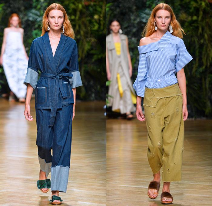 Pantaloni Erika Cavallini primavera estate 2016