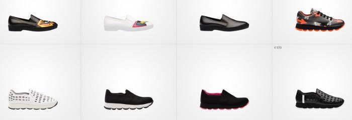 Prada scarpe donna primavera estate 2016 stringate