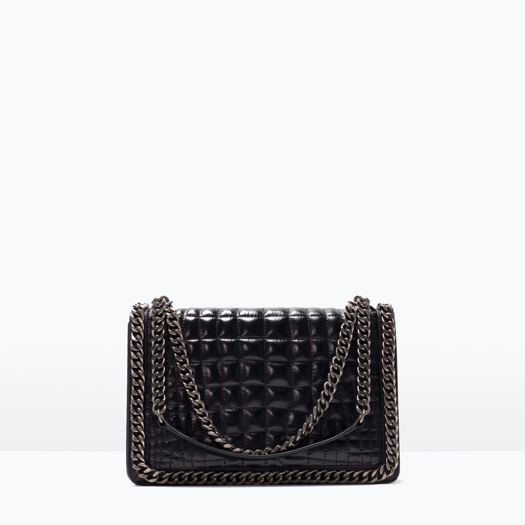 Zara borse primavera estate 2016 mini bag con catena