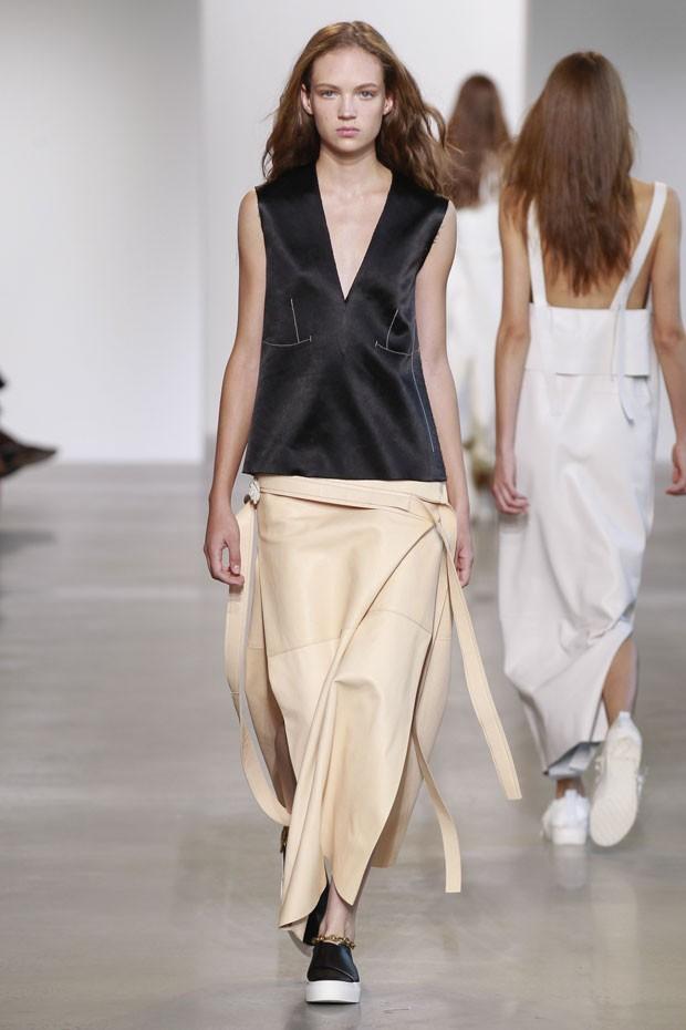 Calvin Klein primavera estate 2016 bluse