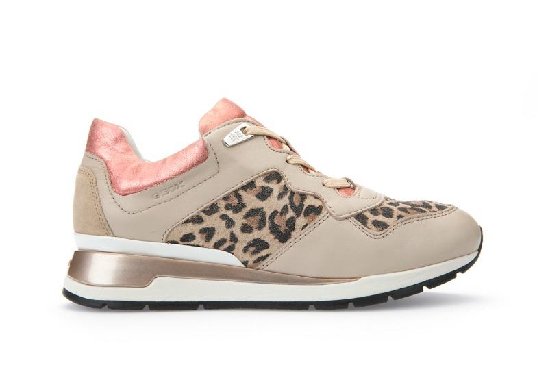 Sneaker Geox primavera estate 2016 animalier