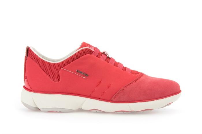 Sneaker Geox primavera estate 2016 rosse