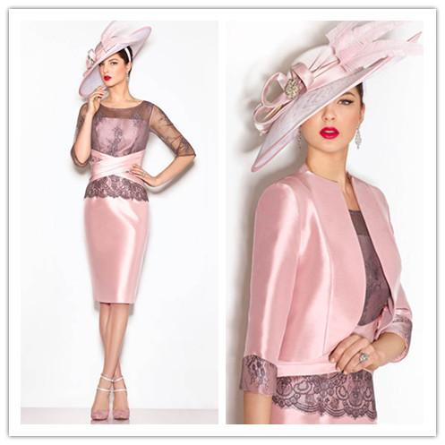 Abito rosa elegante