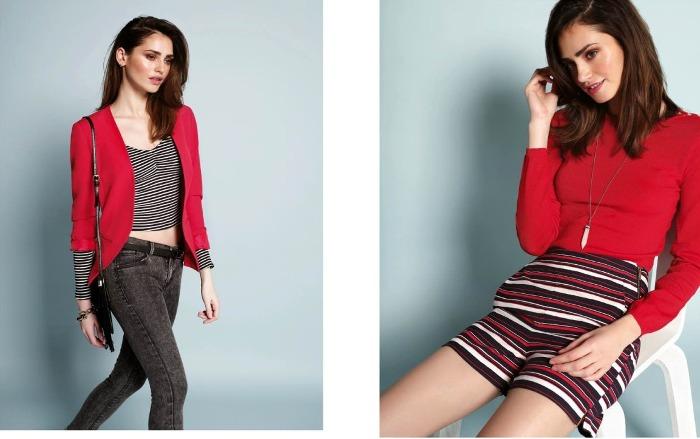 Calliope camicia rossa elegante