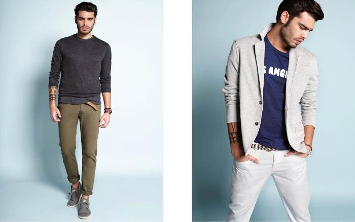 Calliope pantaloni colorati uomo