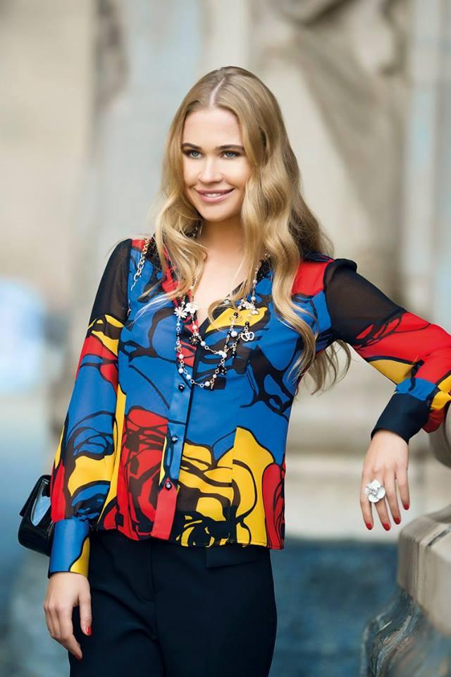 Camicia multicolor Cannella